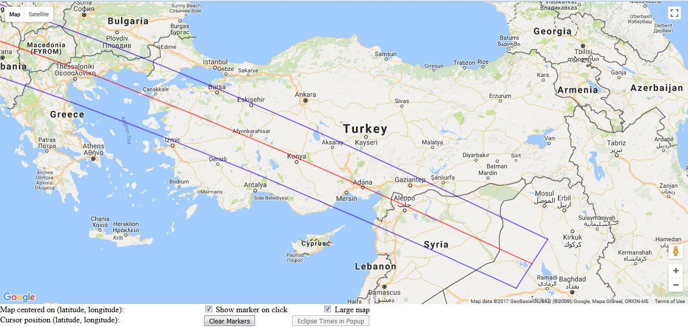 NASA map 28 March -584