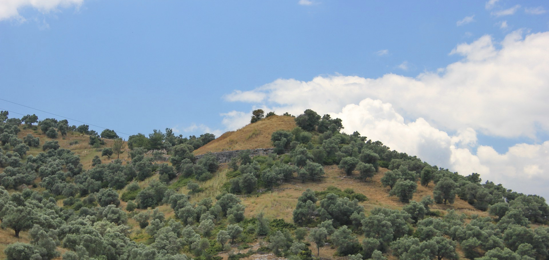 Belevi Tumulus; View from the Belevi Monument