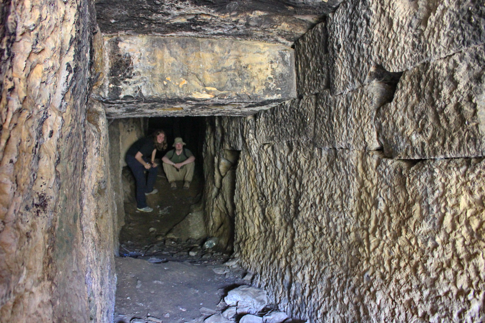 Entrance passage to Belevi Tumulus (photo © Daniel C Browning Jr)