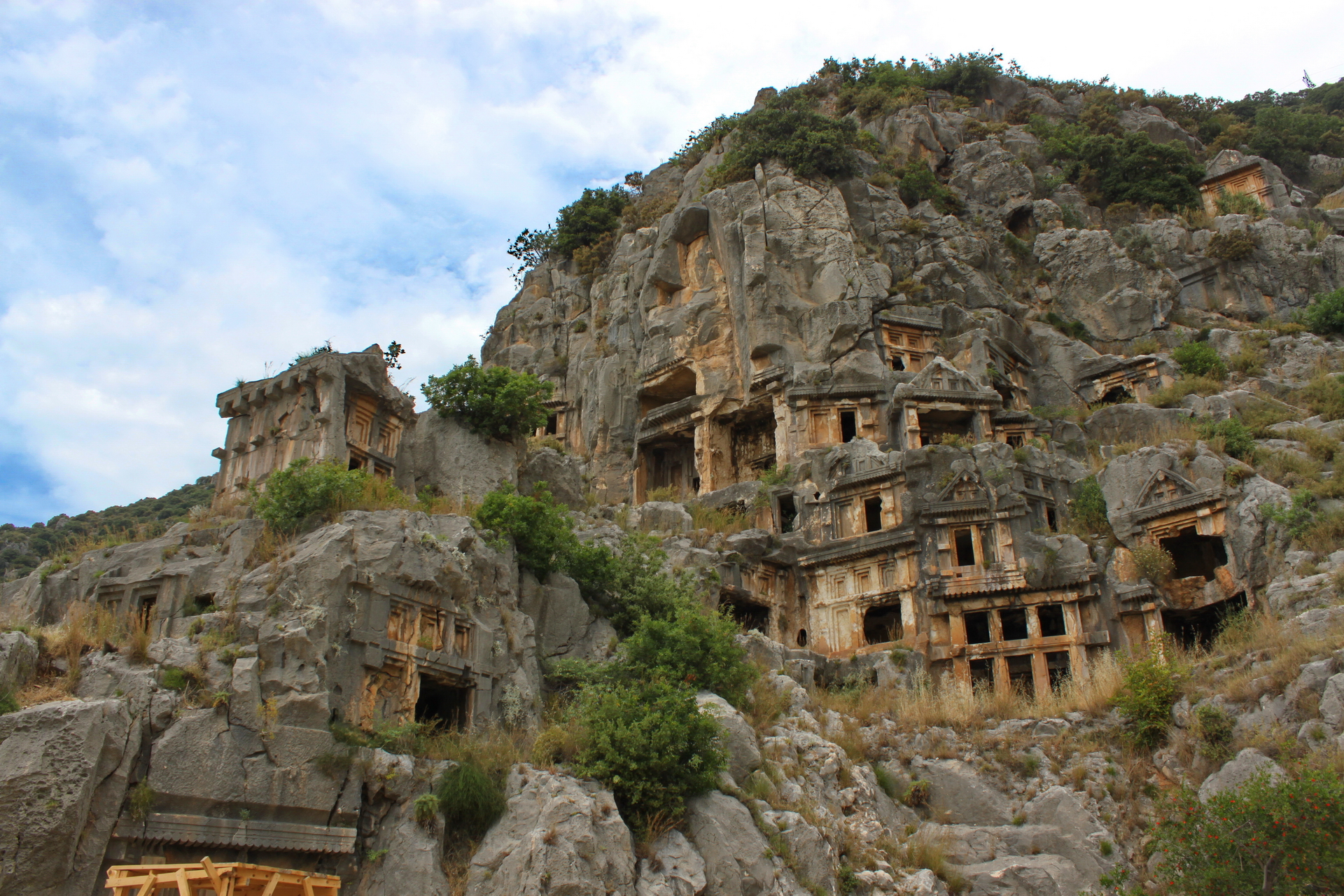 Myra: western tombs