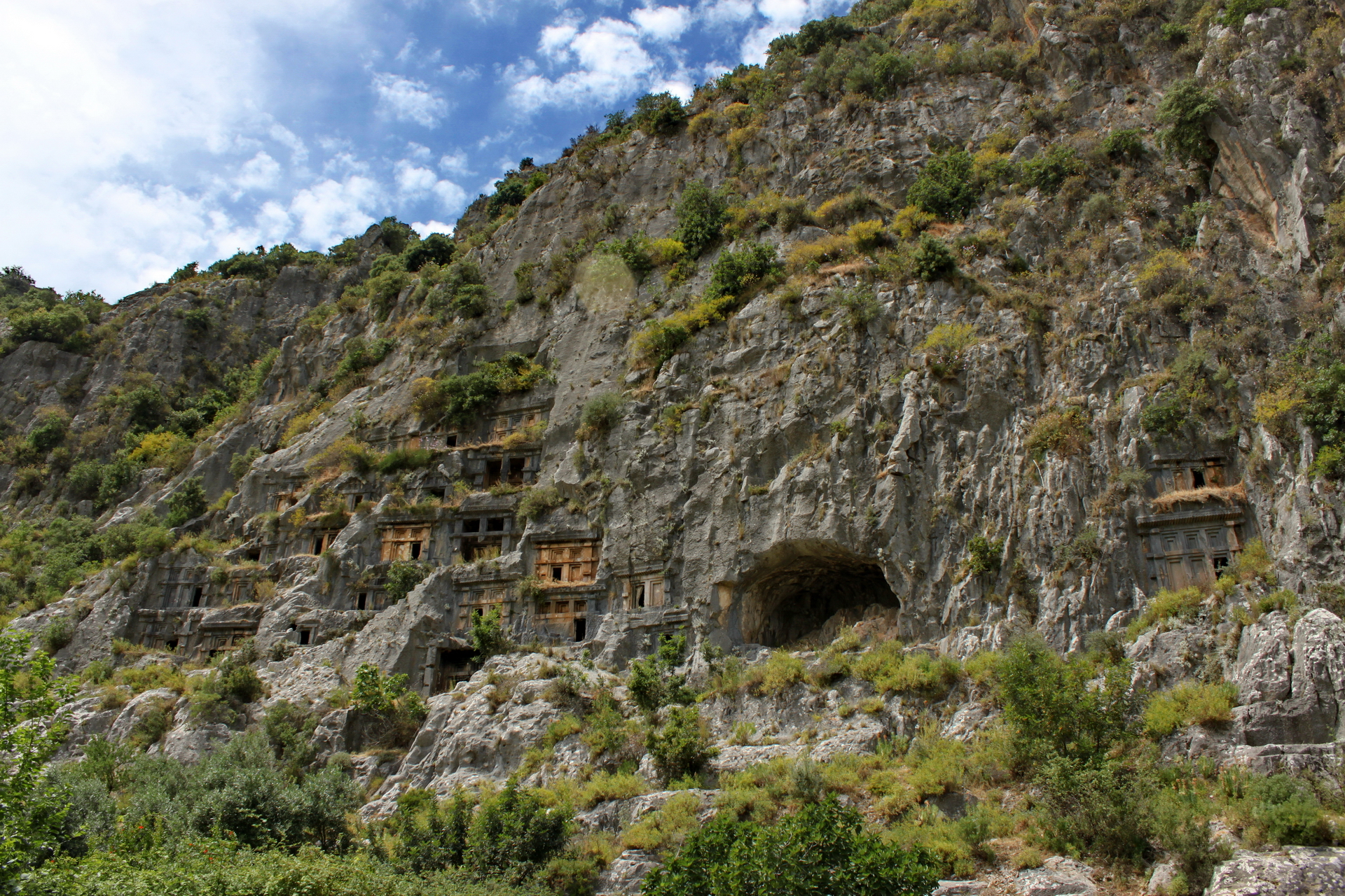 Myra: Northern tombs