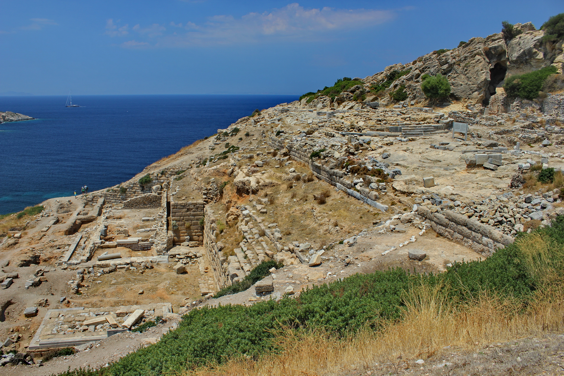 Cnidus-Knidos: Apollo and Round Temple