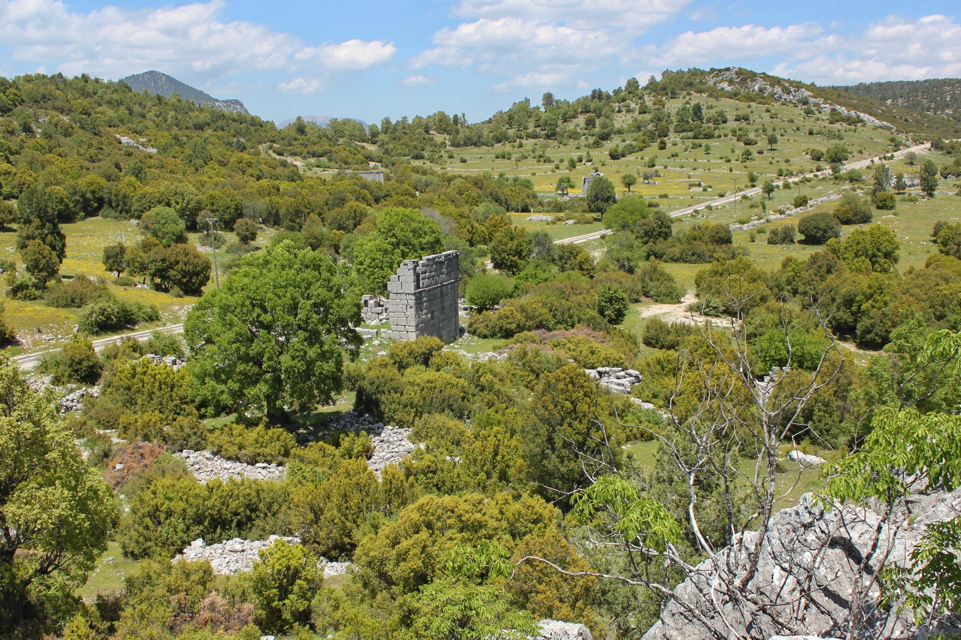 Adada: Bouleuterion from Acropolis