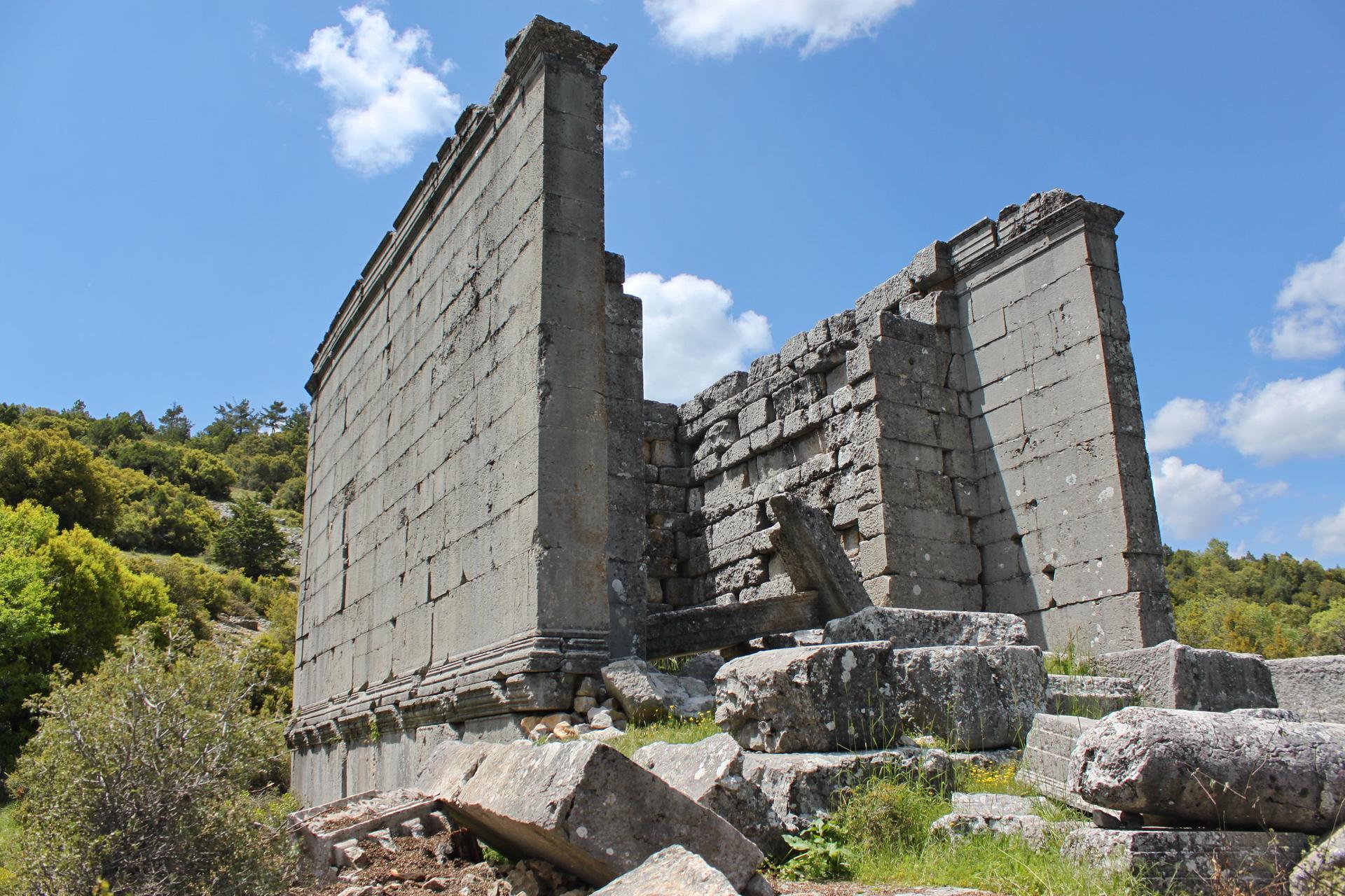 Adada: Temple of Zeus Megistros Serapis and the Emperors